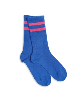 Stripe Sock Blue